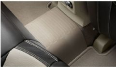 Genuine Volvo XC60 (-17) Tunnel Mat Rubber (Colour: Mocca Brown)